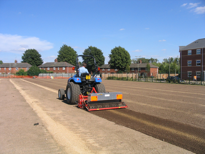 Cultivating and Seeding in one operation