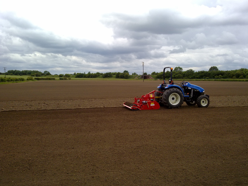 Stone burying and seedbed preparation